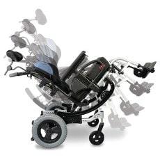כסאות גלגלים להושבה מורכבת וטיולונים